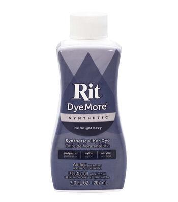 Rit DyeMore 7 fl. oz. Synthetic Fiber Dye-Midnight Navy