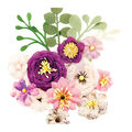 Prima Marketing Moon Child 16 pk Fabric Flowers-Cosmic Love