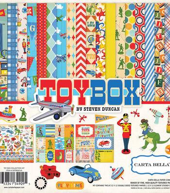 "Carta Bella Collection Kit 12""X12""-Toy Box"