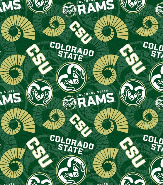 Colorado State University Twist Action Ballpoint Pen Green