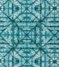 Keepsake Calico Cotton Fabric 43\u0027\u0027-Teal Tonal Geometric Diamond