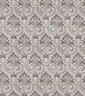 Eaton Square Lightweight Decor Fabric 53\u0022-Dorm/Charcoal