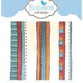 Elizabeth Craft Designs Clear Stamp-Stripes Background