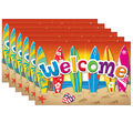 Surf\u0027s Up Welcome Postcards, 30 Per Pack, 6 Packs