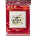 RIOLIS 11.75\u0027\u0027x11.75\u0027\u0027 Counted Cross Stitch Kit-Watercolor Jasmine