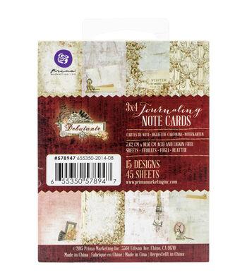 Prima Marketing Debutante 3''x4'' Journaling Notecards