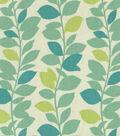 Home Decor 8\u0022x8\u0022 Fabric Swatch-PKL Leaf Garland Spa