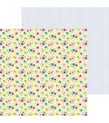 Doodlebug Hello 25 pk 12\u0027\u0027x12\u0027\u0027 Double-Sided Cardstock-Petite & Pretty