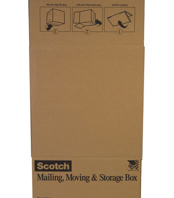 Scotch Mailing, Moving & Storage Box