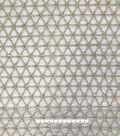 Gianna Gilded Circle with Pearl Fabric 56\u0022
