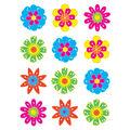 Fun Flowers Mini Accents 36/pk, Set of 12 Packs