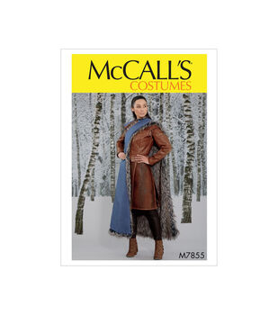 McCall's Pattern M7855 Misses' Costume-Size 14-16-18-20-22