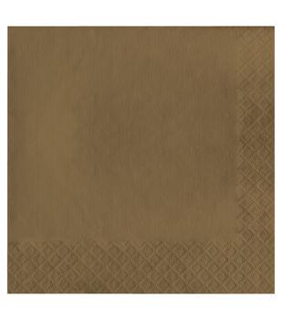 20ct Large Napkin-Metallic Gold