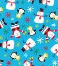 Christmas Cotton Fabric 43\u0022-Bright Holiday Friends