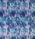 Loungeletics Knit Fabric 60\u0027\u0027-Blue Abstract