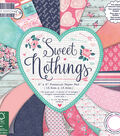 Trimcraft First Edition 6\u0027\u0027x6\u0027\u0027 Premium Paper Pad-Sweet Nothings