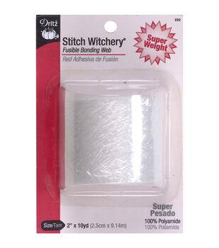 "Dritz Stitch Witchery Super Weight Fusible Bonding Web 2""x10yds"