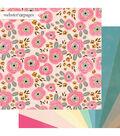Webster\u0027s Pages My Happy Place 12\u0027\u0027x12\u0027\u0027 Double-sided Cardstock-Sunshine