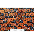 The Witching Hour Halloween Velvet Fabric 57\u0022-Foil Trick Or Treat