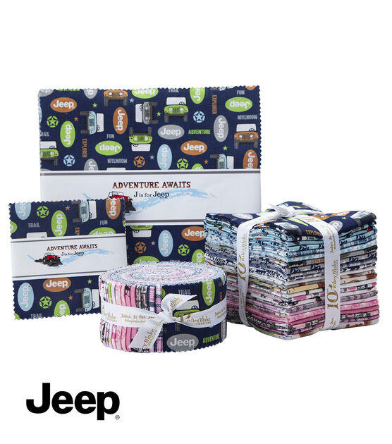Jeep Adventure Awaits Fat Quarter Bundle by Riley Blake, , hi-res, image 3