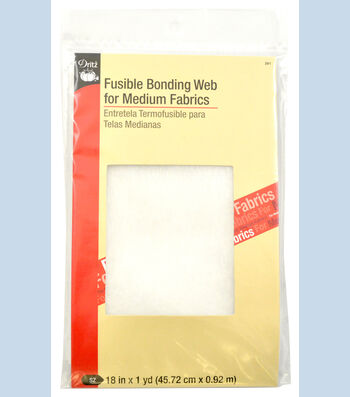 "Dritz Fusible Bonding Web Medium White 18""X1Yd"