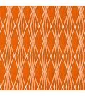 Robert Allen @ Home Lightweight Decor Fabric 55\u0022-Handcut Shapes / Orange Crush