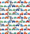 Snuggle Flannel Fabric -Traffic Jam