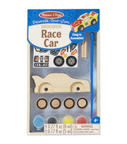 Melissa & Doug Decorate-Your-Own Wooden Kit-Race Car, , hi-res