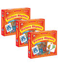 I Spy a Mouse in the House! Picture Rhymes Game, Grade PK-1, Pack of 3