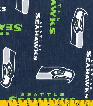 Seattle Seahawks Tablecloth Vinyl Fabric -Logo