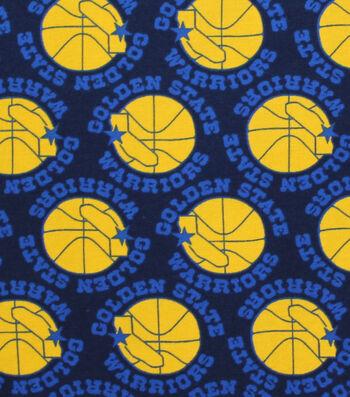 Golden State Warriors Cotton Fabric -Vintage Logo