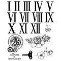 IndigoBlu Cling Mounted Stamp Clockwork
