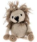 Hoooked Lion Leroy Yarn Kit with Eco Brabante Yarn-Beige & Taupe