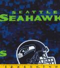Seattle Seahawks Fleece Farbic -Digital