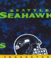 Seattle Seahawks Fleece Farbic -Digital, , hi-res