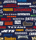 Nfl All Team Print Cotton