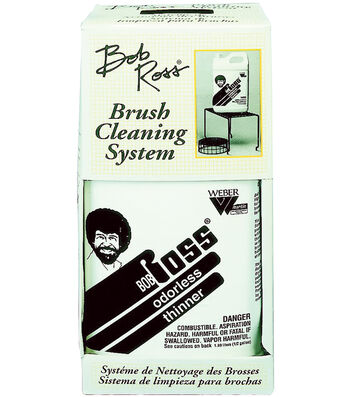 Bob Ross Brush Cleaning System