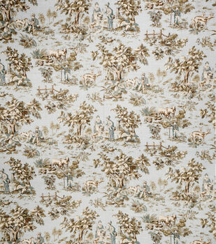 """Jaclyn Smith Upholstery Fabric 54""""-Cleo /Robins Egg"""