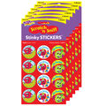 Snappy Apples-Apple Stinky Stickers 48 Per Pack, 6 Packs