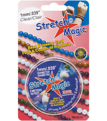 Stretch Magic 1mm Bead & Jewelry Cord-5meters