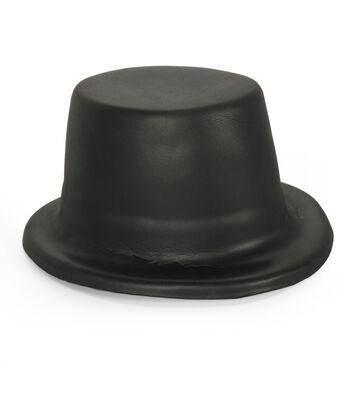 Kids Foam Hat - Black Top Hat