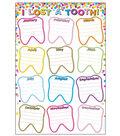 Smart Poly Chart 13\u0022x19\u0022 Confetti I Lost A Tooth 10pk