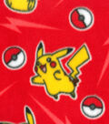 Pokemon Fleece Fabrivc 60\u0022-Pikachu Bolt