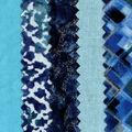 Mini Charm Cotton Fabric Pack 2.5\u0027\u0027x2.5\u0027\u0027-Blue