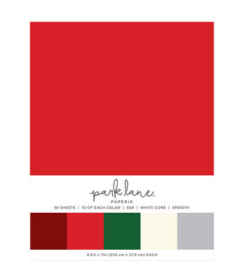 Park Lane 50 pk 8.5''x11'' Value Papers-Holiday