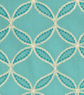Williamsburg Upholstery Fabric 52\u0022-Tanjib Emb/Peacock