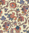 Waverly Multi-Purpose Decor Fabric 54\u0022-Tennyson/Jewel