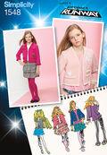 Simplicity Pattern 1548AA 8-10-12-14-Girl Boy Sportswear