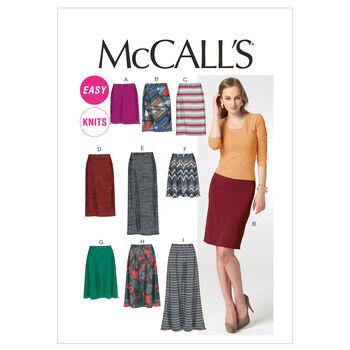 McCall's Misses Skirt-M6654