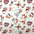 Christmas Rudolph the Red Nosed Reindeer Cotton Fabric-Winter Fun